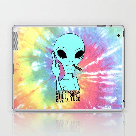 Still Alien Laptop & iPad Skin