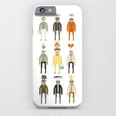 Walter White Pixelart Transformation- Breaking Bad iPhone 6s Slim Case