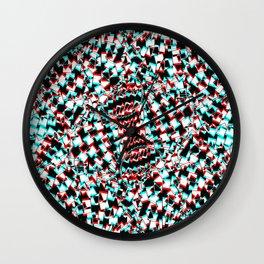 Atom vibration Wall Clock