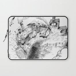 Au-Delà du Terminus / Beyond the End Station Laptop Sleeve