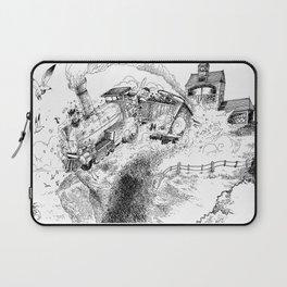 Au-Delà du Terminus / Beyond the End Station Laptop Sleeve