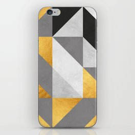 Gold Composition II iPhone Skin