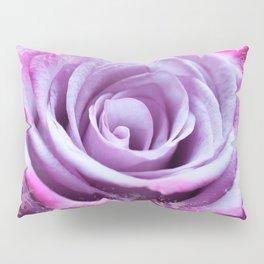 Rose of Love #Pink #Purple #art #society6 Pillow Sham
