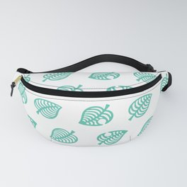 botanical leaf pattern Fanny Pack