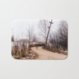 Winer in the country Bath Mat