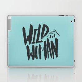 Wild Woman x Blue Laptop & iPad Skin