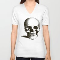 fig V-neck T-shirts featuring Fig 1.1 by Steal This Art
