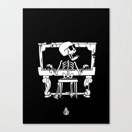 Piano ray Canvas Print