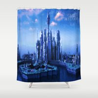 stargate Shower Curtains featuring The lost city by Samy