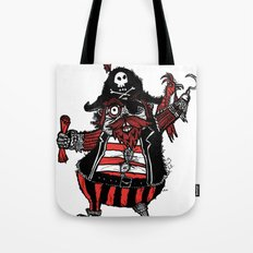 The Captain Pirate inspired by Captain Pugwash Tote Bag