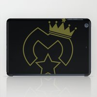 crown iPad Cases featuring Crown  by The Monark