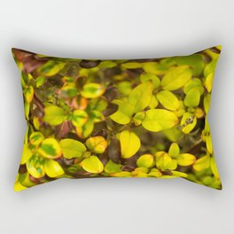 Yellow leaves Rectangular Pillow