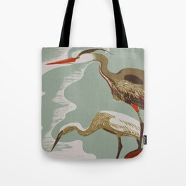 Visit the Zoo - African Birds Tote Bag