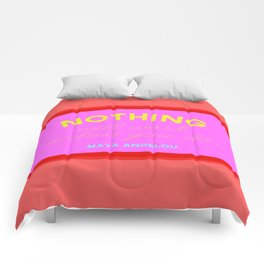 Maya Always Said Comforters