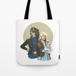 Tin Tin Tote Bag