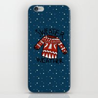 sweater iPhone & iPod Skins featuring Sweater by Mr and Mrs Quirynen