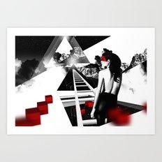 Mindblow Art Print