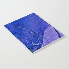 Blueberry Swirl Notebook