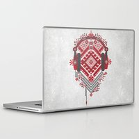 ethnic Laptop & iPad Skins featuring Ethnic by sophtunes