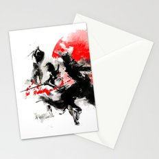 Samurai Duel Stationery Cards