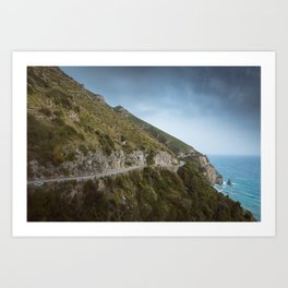 Dream road Art Print