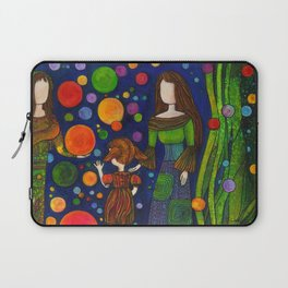 Playing with orbs Laptop Sleeve