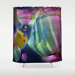 Fish type Shower Curtain