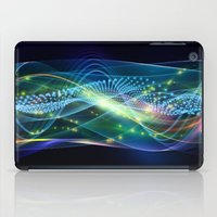 data iPad Cases featuring Data Transmission by Tom Lee