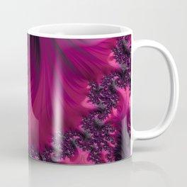 Twisting Dark Raspberry Ripple Coffee Mug
