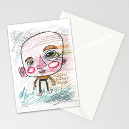 Unless I Fade Away Stationery Cards
