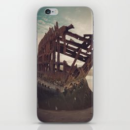 Shipwrecked - The Peter Iredale iPhone Skin