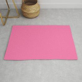 Shocking Pink Bubblegum Rug