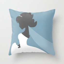 Bride's Day Throw Pillow