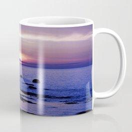 Blue and Purple Sunset on the Sea Coffee Mug