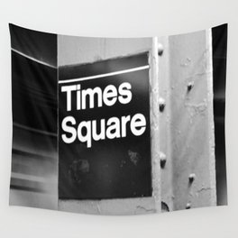 Times Square Metro Wall Tapestry
