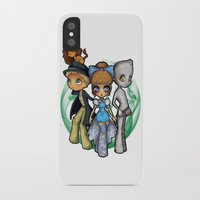oz iPhone & iPod Cases featuring Oz  by Mickey Spectrum