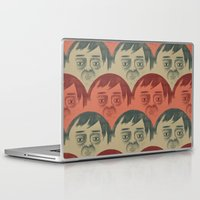 it crowd Laptop & iPad Skins featuring CROWD by Renato Klieger Gennari