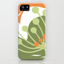 Nature Geometry 03 iPhone Case