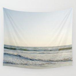 Waves at Pismo Beach California Wall Tapestry