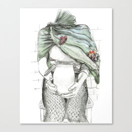 unlatched Canvas Print