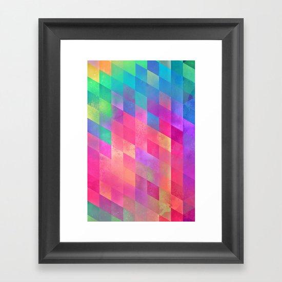 byde Framed Art Print