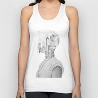 silhouette Tank Tops featuring Silhouette by Kim Leutwyler