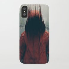 Face into the Abyss iPhone X Slim Case