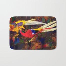 Pheasants Bath Mat