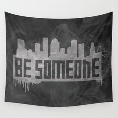 Be Someone - HTX  Wall Tapestry