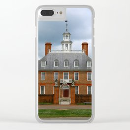 Governers Palace Colonial Williamsburg Clear iPhone Case