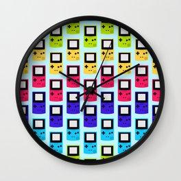 Rainbow Nostalgia Wall Clock