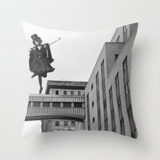 Side Streets and Sweethearts Throw Pillow