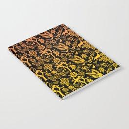 Joshua Tree Sunset by CREYES Notebook