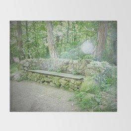 Fairy Bench Throw Blanket